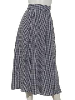 フレアータックロングスカート
