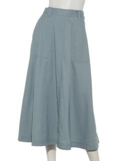 台形マキシスカート