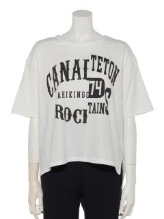 リメイクグラフィックアシメTシャツ