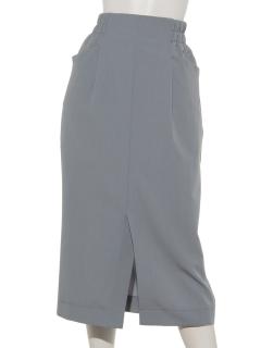 フロントスリットタイトスカート