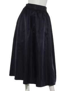ハイウエストギャザーマキシスカート
