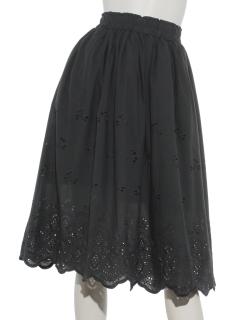 エンブロイダリースカート