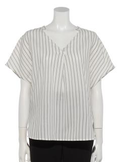 Vネックスキッパーシャツ