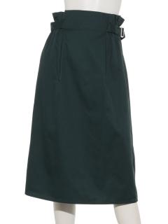 サイドベルトナロースカート