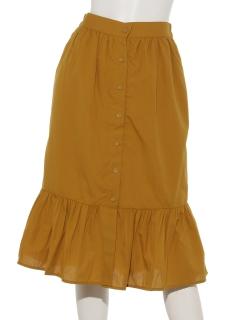 前釦ティアードスカート