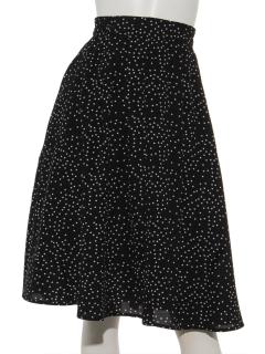 ドットギャザースカート