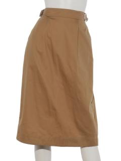 サイドバックル付きスカート
