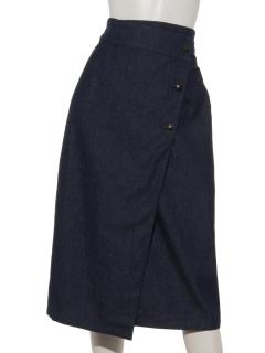 デニムナロースカート