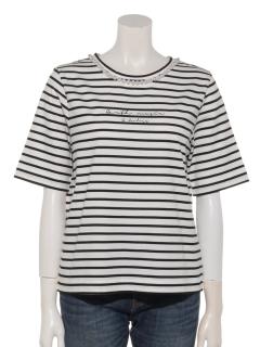 パールロゴプリントTシャツ