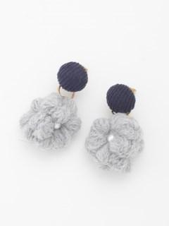 【TRUNK SHOW】毛糸のピアス