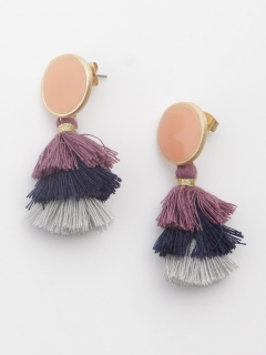 【TRUNK SHOW】3色タッセルピアス