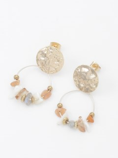 【TRUNK SHOW】サークル密集ピアス