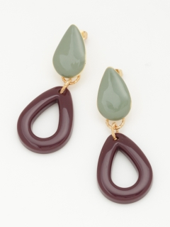 【TRUNK SHOW】レトロシズクピアス