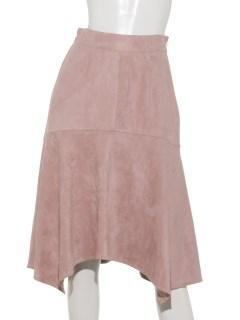 SLYスウェード風アシメスカート