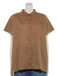ビッグシルエット半袖シャツ