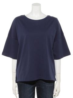 オーガニックコットンビッグクルーネックTシャツ