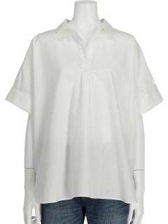 半袖スキッパーシャツ