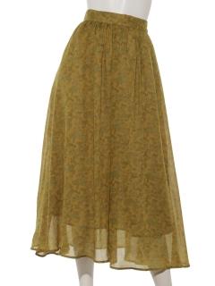 ペイズリースカート