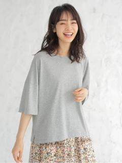 BIGシルエットクルーネックTシャツ