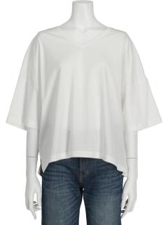 BIGシルエットVネックTシャツ