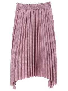 シャドウチェックプリーツスカート