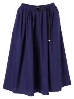 ・ベルト付きカラースカート