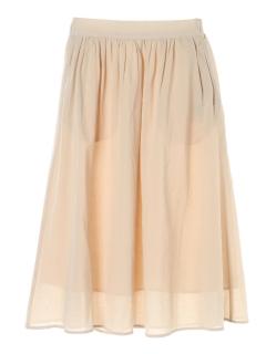 リラックスカラースカート