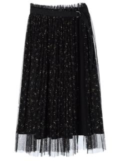 ・2wayラップ付きスカート