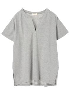 スキッパーチュニックTシャツ
