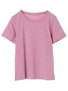 ・オーガニックコットンクルーネックTシャツ
