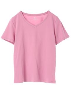 ・ベーシックVネックTシャツ