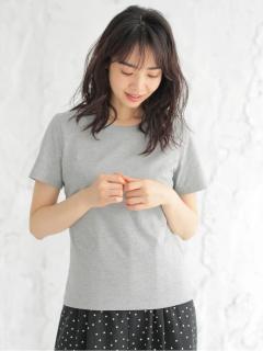 ・ベーシッククルーネックTシャツ