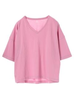 ・BIGシルエットVネックTシャツ