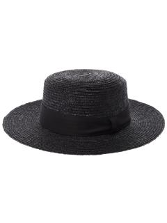 ・ワイドリムカンカン帽
