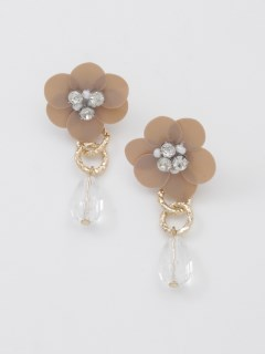 【TRUNK SHOW】花スパンンコールピアス