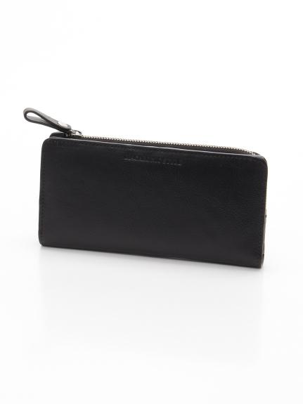 MACARONIC STYLE (マカロニックスタイル) メンズ本革長財布 ブラック