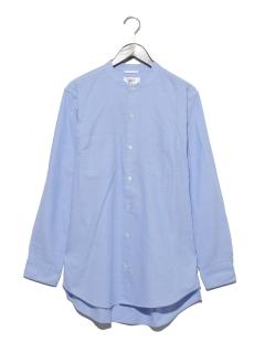 OXバンドカラーロングシャツ