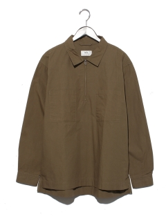 ハーフZIP P/Oシャツ