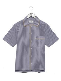 S/Sパイピングパジャマシャツ