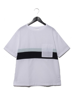S/SチェストキリカエシャツT