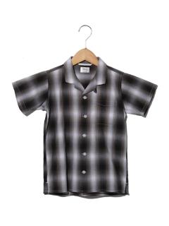 MK-S/SオンブレCKシャツ