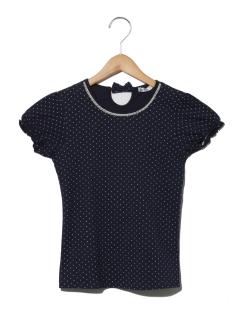 HビーズツキTシャツ