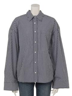 【日本製】近江タンブラーワイドシャツ