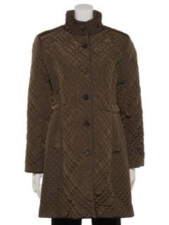 中綿キルト使いコート