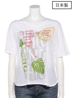 【日本製】接触冷感素材プリントTシャツ