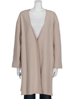 ウール混薄コート