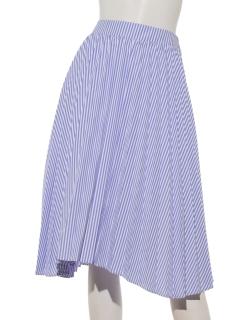 ストライププリーツ スカート