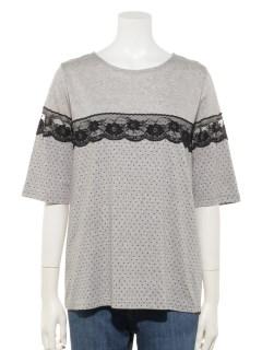 水玉Tシャツ