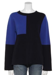 配色セーター