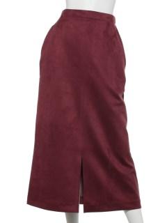 フェイクスウェードスカート